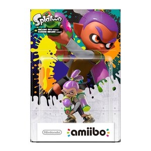 Gaming / Game Accessories / Splatoon Inkling Boy amiibo (Alt Color)