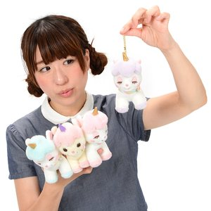 Unicorn no Cony Yume-Kawa Ribbon Plush Collection (Ball Chain)