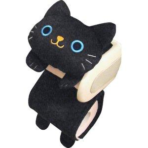 Black Cat Toilet Paper Holder