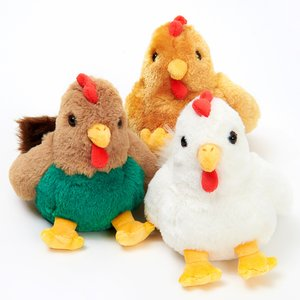Fluffies 2017 Zodiac Small Chicken Plushies