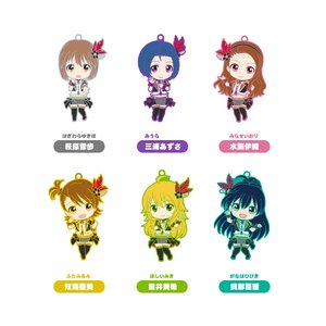 Nendoroid Plus Collectible Rubber Straps: The Idolm@ster 765Pro Allstars Revolution Night Box Set B