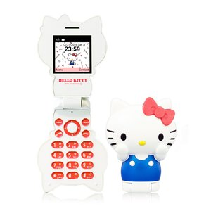 Toys & Knick-Knacks / Gadgets / Hello Kitty Figurine Phone