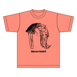 "Nevermore!! ""n"" Light Salmon T-Shirt"