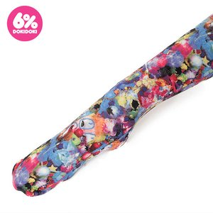 J-Fashion / Socks & Tights / 6%DOKIDOKI Colorful Rebellion Crash Patterned Tights