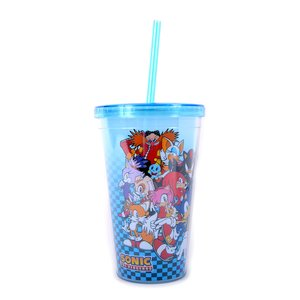 Home & Kitchen / Tumblers / Sonic the Hedgehog Group Tumbler