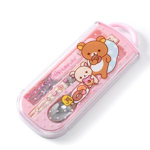 Home & Kitchen / Chopsticks & Cutlery / Rilakkuma Trio Utensil Set (Sweets)