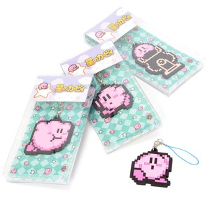 Stationery / Smartphone Straps / Kirby 8-Bit Rubber Straps