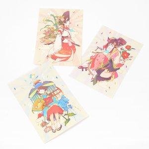 Buyo Girl Postcard Set