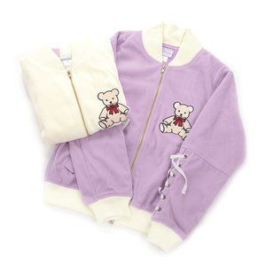 milklim Kuma-chan Embroidered Jacket