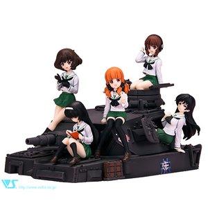 Figures & Dolls / Garage Kits / CharaGumin Anglerfish Team Set (Uniform ver.)   Girls und Panzer Garage Kit