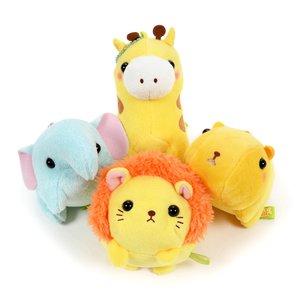 Pocket Zoo Animal Plush Collection (Ball Chain)