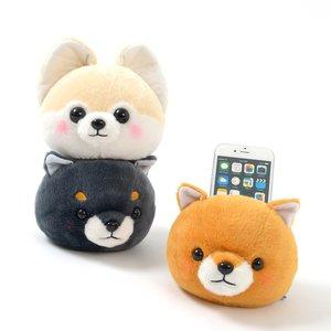 Plushies / Plushie Accessories / Mameshiba San Kyodai Dog Face Multiuse Stands