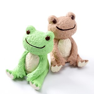 Pickles the Frog Craft Series Sitting Frog Statues