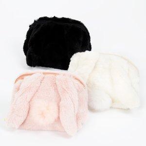 J-Fashion / Wallets & Pouches / FLAPPER Rabbit-Eared Fur Pouch