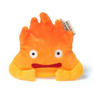 Otaku Apparel & Cosplay / Bags & Wallets / Plushies / Small Plushies / Howl's Moving Castle Calcifer Coin Purse