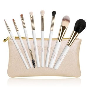 J-Fashion / Makeup & Beauty / DUcare Cosmetic Brush Set w/ Gold Cosmetics Bag