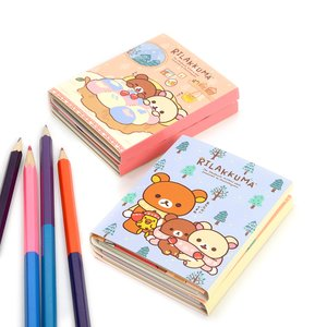 Stationery / Notebooks & Memo Pads / Rilakkuma Tebukuro o Todokeni Flipbook Memo Pads