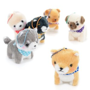 Mameshiba San Kyodai Dog Plush Collection (Ball Chain)