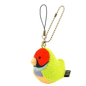 Toys & Knick-Knacks / Collectable Toys / Plushies / Plushie Sets / Irotoridori Gouldian Finch Keychain Strap