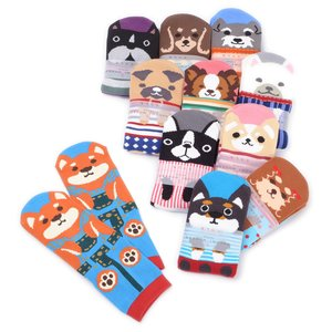 Home & Kitchen / Roomwear & Sleepwear / J-Fashion / Socks & Tights / Nagomi Modern Women's Dog Socks