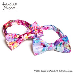 6%DOKIDOKI Colorful Rebellion Bow Tie