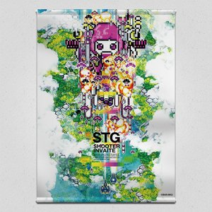 STG-Shooter Invaite Tapestry