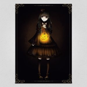 Halloween with Gothic & Lolita Tapestry
