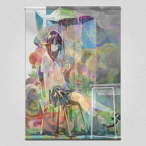 Art Prints / Tapestries / The Rain that Just Won't Stop Tapestry
