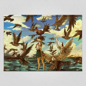 Art Prints / Tapestries / The Weather Vane Tapestry