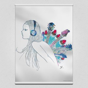 Art Prints / Tapestries / CDJ Tapestry