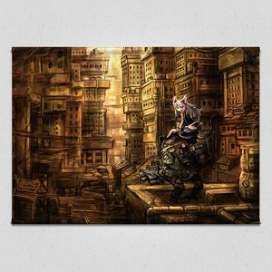 Gray City Tapestry