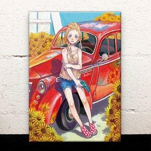 Summer in Eastern Europe Acrylic Art Board
