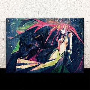 Cat Crown Acrylic Art Board