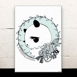 Art Prints / Acrylic Art Boards / Dream-Giver Panda-chan Acrylic Art Board