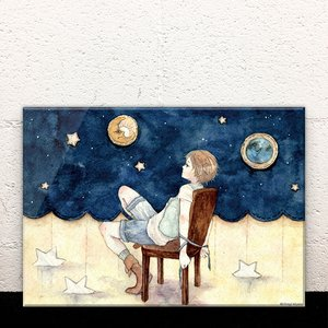 Art Prints / Acrylic Art Boards / Playing Alone Acrylic Art Board
