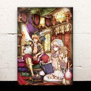 Storyteller's Hall Acrylic Art Board