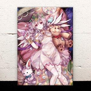 Lonely Girl Acrylic Art Board