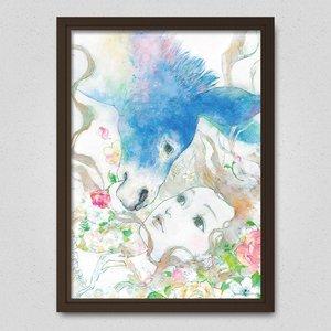 "Art Prints / Posters / Poster: Natsuko Echizen's ""Night of Medusa"""