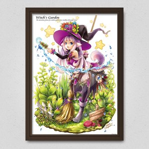 Art Prints / Posters / Witch's Garden Poster