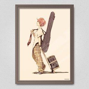 Bass Girl Poster
