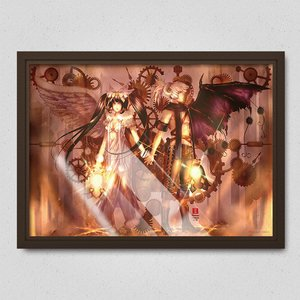 One-Winged Couple Poster