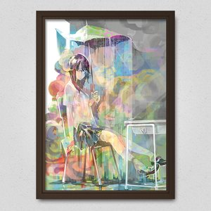 Art Prints / Posters / The Rain that Just Won't Stop Poster
