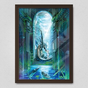 A Church and a Dragon Poster