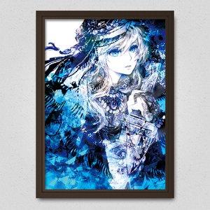 Art Prints / Posters / Blue   Poster