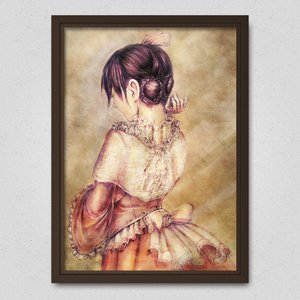 Girl in a Dress Poster