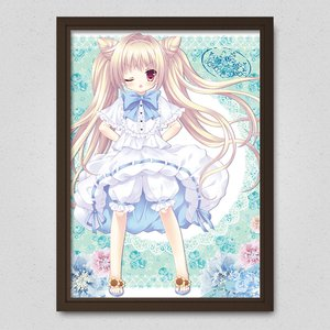 Art Prints / Posters / Summer Dumpling Twintails Poster