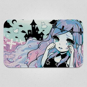 Banshee in a Pastel Gothic World Blanket