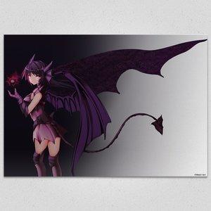 Black-Devil Art Canvas Board