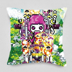 STG Shooter Invaite Cushion Cover