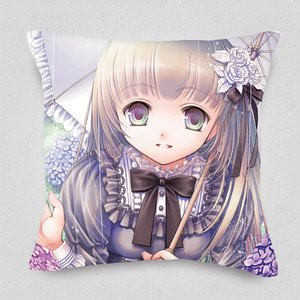 You and Hydrangea Cushion Cover
